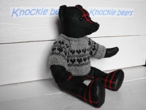Fairisle bear
